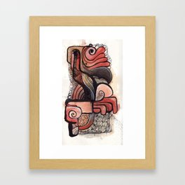 Cluster 10 Framed Art Print
