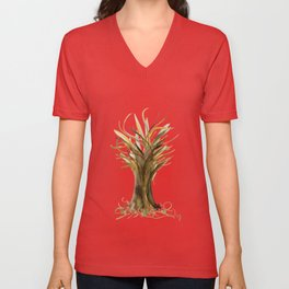 The Fortune Tree #1 Unisex V-Neck