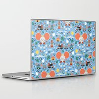 dumbo Laptop & iPad Skins featuring Dumbo by Carly Watts