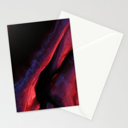 Purple textile background Stationery Cards