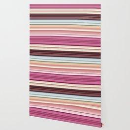 Sandwich cookie stripes Wallpaper