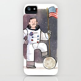 Neil Armstrong iPhone Case