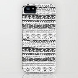 Dark aztec iPhone Case