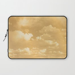 Clouds in a Golden Sky Laptop Sleeve