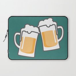 Cheers for peers with beer - Enjoy beer day with your friends Laptop Sleeve