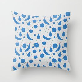 Fruit Basket Throw Pillow