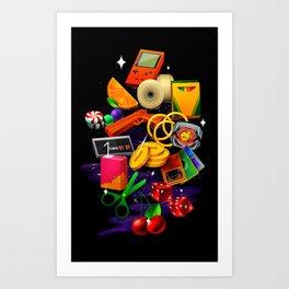 BORN 88 Art Print