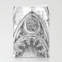 gothic Stationery Cards featuring gothic by Tereza Del Pilar