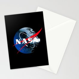 The Second NASA Death Star Stationery Cards