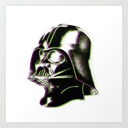 Dot Vader Art Print