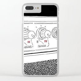 Guitar Amp turned to Eleven Clear iPhone Case