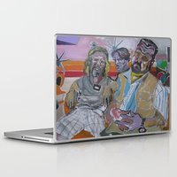 the big lebowski Laptop & iPad Skins featuring The Big Lebowski by Robert E. Richards