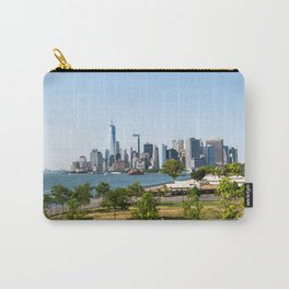 Lower Manhattan Skyline view from Governors Island 2018 Carry-All Pouch