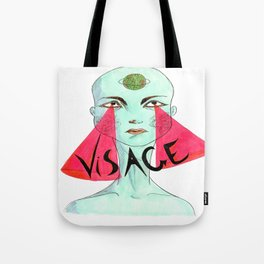 A Unique Visage  Tote Bag