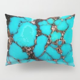 Macro Turquoise Pillow Sham