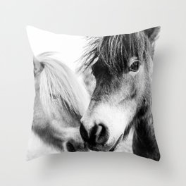 Almo and Billy Bear Throw Pillow