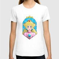 princess peach T-shirts featuring Princess peach by Une Belle Pagaille