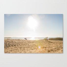 Surfer's Point Canvas Print
