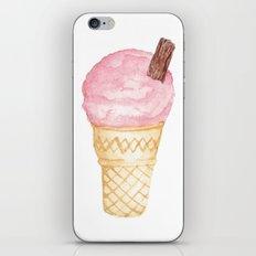 Watercolour Illustrated Ice Cream - Berries on Ice iPhone & iPod Skin