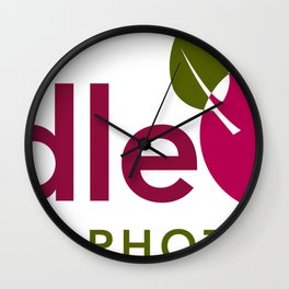 BrindleBerry Logo Wall Clock