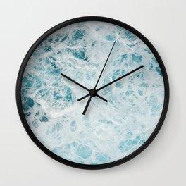 Churning Waters Wall Clock