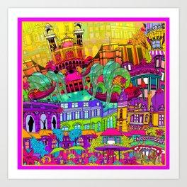 I Heart Paris Art Print