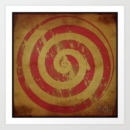 Swirl, that's it... Art Print