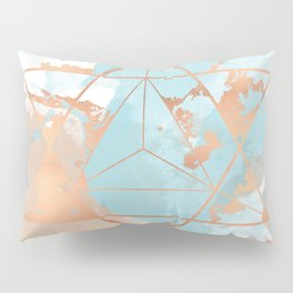 Transforming Within - Copper Rose Gold Pillow Sham