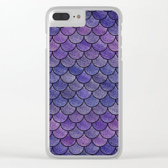 Lovely Pattern III(Glitter Version) Clear iPhone Case