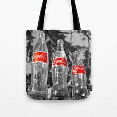 Classic soda bottles Tote Bag
