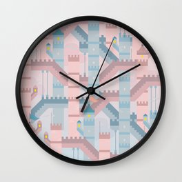 CASTLE HIGH Wall Clock