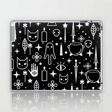 Spirit Symbols Black Laptop & iPad Skin