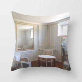 Through a glass Throw Pillow