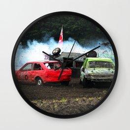 Race rollover in Stockcar Wall Clock
