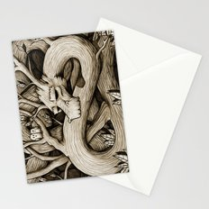 Tree Dragon Stationery Cards