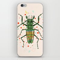 insect iPhone & iPod Skins featuring Insect V by dogooder