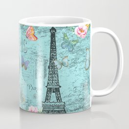 Paris - my blue love Coffee Mug