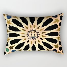 Azulejo de La Alhambra Rectangular Pillow