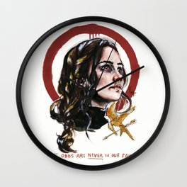 Katniss Everdeen/Mockingjay Wall Clock