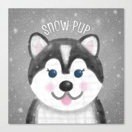 Snow Pup Canvas Print