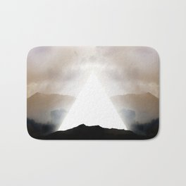 Abstract Landscape 02: New Beginnings Bath Mat
