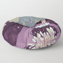 Crystal Witch Floor Pillow