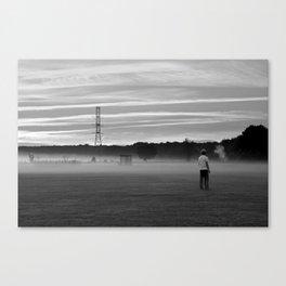 Sunday Fog Canvas Print