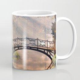 Bridge in the forest Coffee Mug