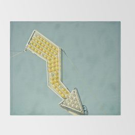 Golden Arrow Throw Blanket