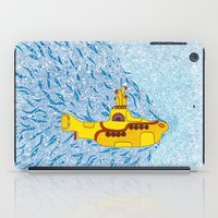yellow submarine iPad Cases featuring My Yellow Submarine by Cris Couto