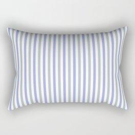 Stripes | Blue & Teal Rectangular Pillow