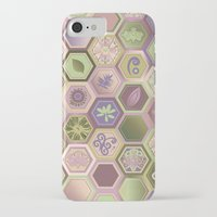 polygon iPhone & iPod Cases featuring Polygon pattern by /CAM
