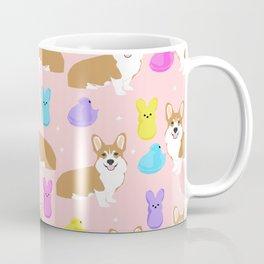 Corgi peeps easter marshmallow spring traditions dog breed welsh corgi Coffee Mug