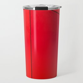 red edge Travel Mug